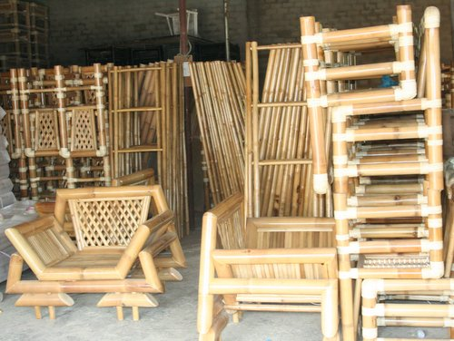 Bamboo furniture for house and garden: Vietnam bamboo manufacturer